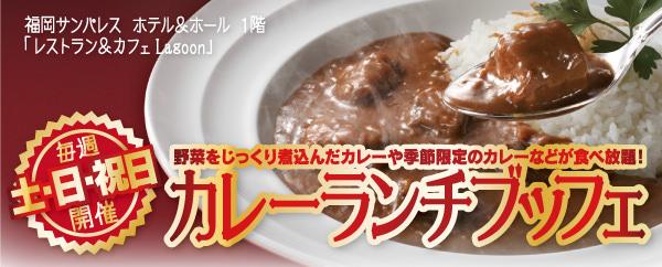 【毎週 土・日・祝日】カレーランチブッフェ