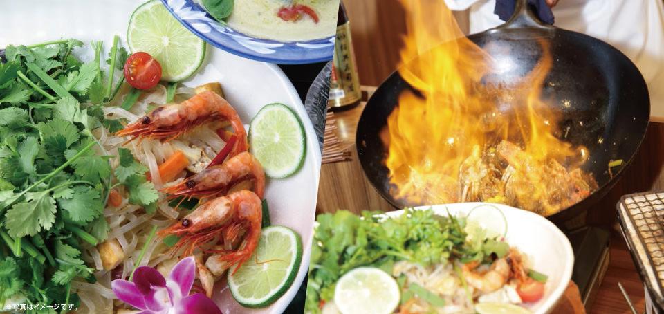 【レストラン&カフェ Lagoon】ディナーブッフェのご案内です