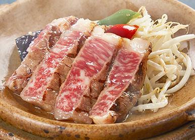 【6/1~8/31の期間限定】<br />くまもとあか牛の陶板焼きステーキ膳