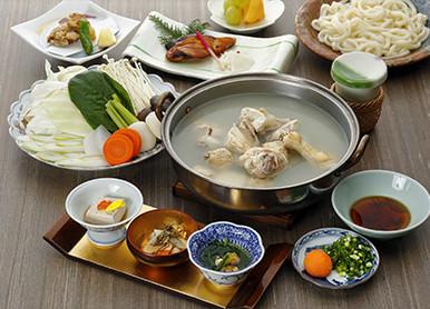 博多水炊きコース (前菜からデザートまでのコース)