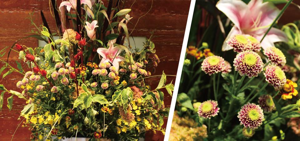 【福岡サンパレス ホテル&ホール】8/27~9/3までのロビー装花