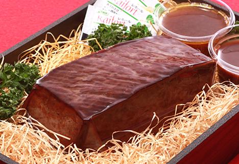 手土産&グルメ<br>国産牛のローストビーフ